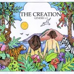 The Creation - Bible quilt coloring pages