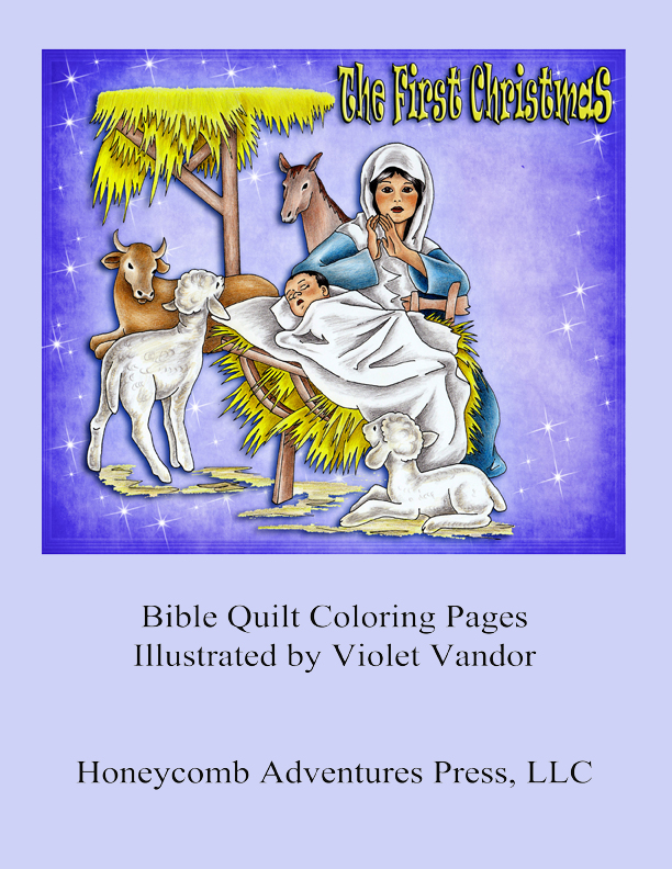 Cover - The First Christmas - coloring pages e22