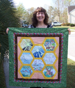 Make your own Creation Quilt using these coloring pages